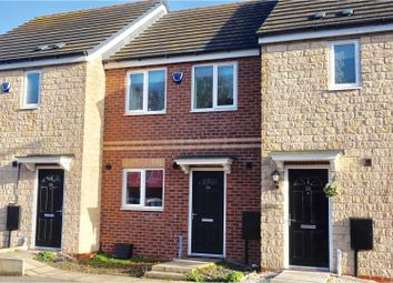 Thumbnail 2 bed terraced house for sale in Pinewood Crescent, Lincoln