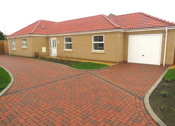 Thumbnail 3 bed detached bungalow for sale in Millfield Way, Whittlesey, Peterborough