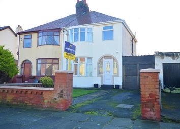 Thumbnail 3 bed semi-detached house for sale in Sandhills Avenue, Blackpool