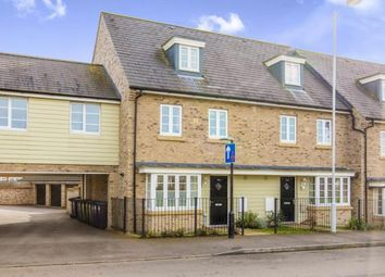 Thumbnail 4 bed end terrace house for sale in Stone Hill, St. Neots, Cambridgeshire, England