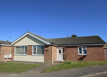 Thumbnail 4 bed detached bungalow for sale in Bacon Road, Claydon, Ipswich, Suffolk
