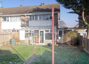 Thumbnail 3 bed end terrace house for sale in Coniston Close, Gillingham, Kent