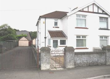 Thumbnail 3 bed semi-detached house for sale in School Lane, Treforest, Pontypridd