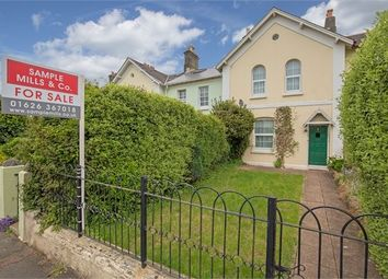 Thumbnail 3 bedroom terraced house for sale in Linden Terrace, Newton Abbot, Devon.