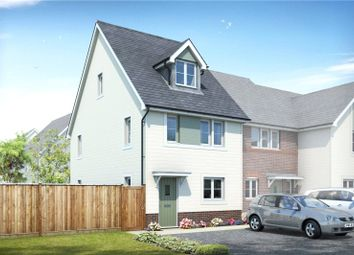 Thumbnail 3 bed end terrace house for sale in Hengist Drive, Aylesford, Kent