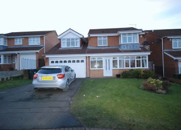 Thumbnail 4 bed detached house for sale in Ferndown Court, Ryton