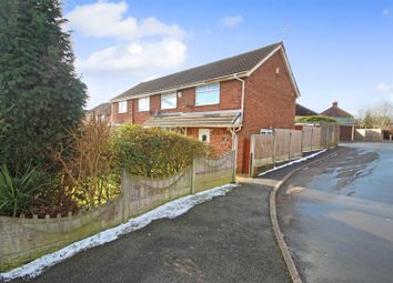 Thumbnail 4 bed semi-detached house for sale in Bamber Place, Chesterton, Newcastle-Under-Lyme