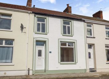 Thumbnail 4 bed terraced house for sale in Victoria Road, Tredegar, Gwent
