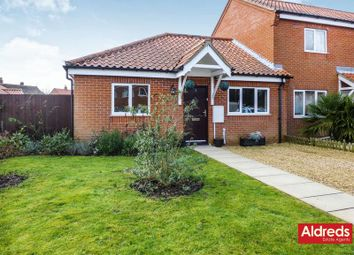 Thumbnail 2 bed semi-detached bungalow for sale in Limes Road, Catfield, Great Yarmouth