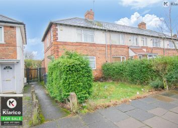 3 bed end terrace house for sale in Dolphin Lane, Acocks Green, Birmingham B27
