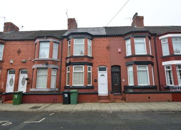 Thumbnail 3 bed terraced house to rent in Rosedale Road, Tranmere, Birkenhead