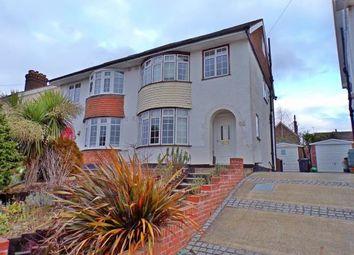 Thumbnail 4 bed semi-detached house for sale in Weald View Road, Tonbridge, Kent