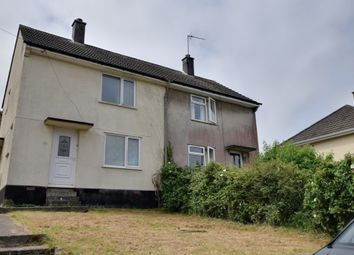 Thumbnail 2 bedroom end terrace house for sale in Erle Gardens, Plymouth, Devon