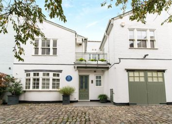 Thumbnail 4 bed mews house for sale in Normand Mews, London