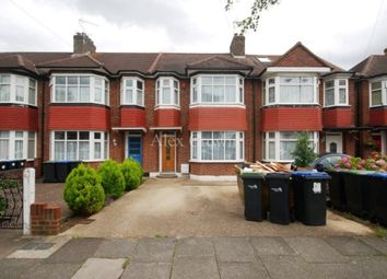 Thumbnail 3 bed terraced house to rent in Ash Grove, London