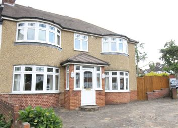 Thumbnail 4 bedroom semi-detached house for sale in Windsor Avenue, North Cheam, Sutton