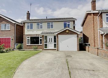 Thumbnail 4 bed detached house for sale in Linchfield Close, Deeping St. James, Peterborough