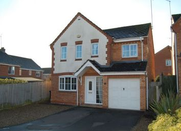 Thumbnail 4 bedroom detached house for sale in Edgehill Drive, Lang Farm, Daventry