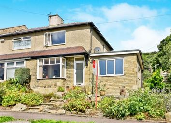 Thumbnail 2 bed end terrace house for sale in Holme Road, Halifax, West Yorkshire