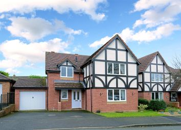 Thumbnail 4 bed detached house for sale in Parrys Close, Bayston Hill, Shrewsbury