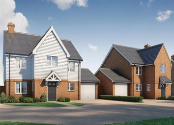Thumbnail 4 bed detached house for sale in Singledge Lane, Whitfield, Dover, Kent