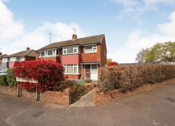 Thumbnail 3 bed semi-detached house for sale in Lockington Crescent, Dunstable