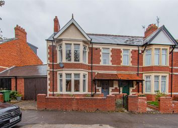Thumbnail 3 bed end terrace house for sale in Southminster Road, Roath, Cardiff