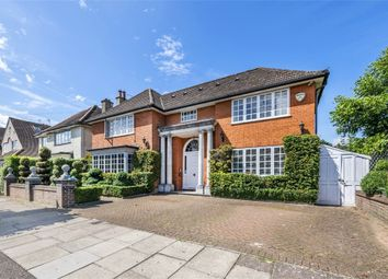 Thumbnail 4 bed detached house for sale in Limes Avenue, Mill Hill