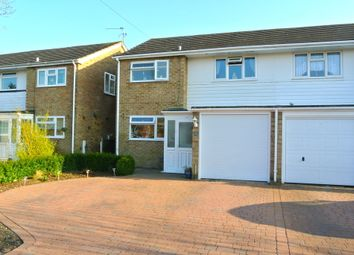 Thumbnail 3 bed semi-detached house for sale in Hillbrow Close, Wood Street Village, Guildford