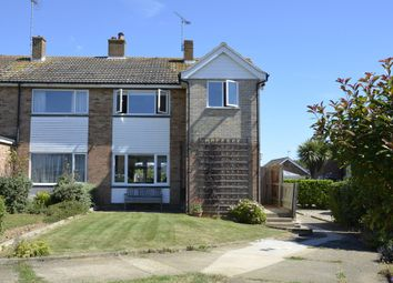 Thumbnail 3 bed semi-detached house for sale in Buttermere Green, Old Felixstowe, Felixstowe