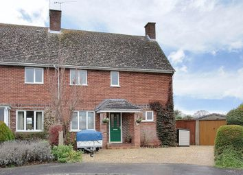 Thumbnail 3 bed semi-detached house for sale in The Crescent, Goodworth Clatford, Andover