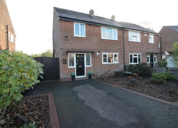 Thumbnail 3 bed semi-detached house for sale in Peers Close, Urmston, Manchester