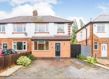 Thumbnail 3 bed semi-detached house for sale in New Bridge Road, Glen Parva, Leicester