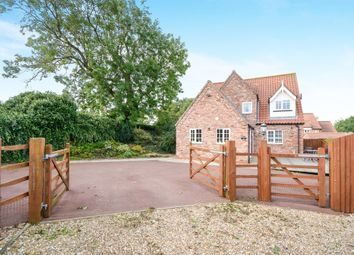 Thumbnail 4 bed detached house for sale in Penfold Lane, Normanby-By-Spital, Market Rasen