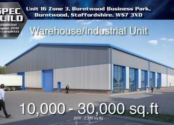 Thumbnail Light industrial to let in Zone 4, Burntwood Business Park, Burntwood