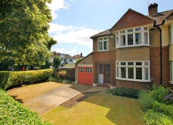 Thumbnail 3 bed semi-detached house for sale in Rydens Avenue, Walton-On-Thames