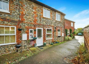 Thumbnail 2 bedroom terraced house for sale in Connaught Road, Attleborough, Norfolk