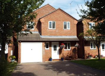 Thumbnail 4 bed detached house for sale in Badgery Close, Greenacres Drive, Uttoxeter, Staffordshire