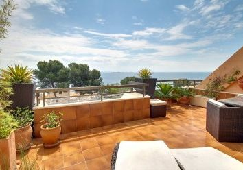 Thumbnail 2 bed apartment for sale in Illetes, Balearic Islands, Spain