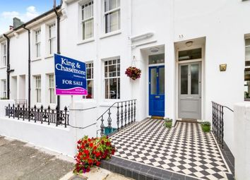 Thumbnail 3 bed terraced house for sale in Kingsley Road, Preston Park, Brighton, East Sussex