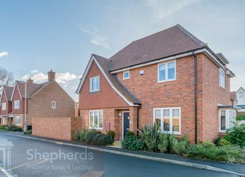 Thumbnail 3 bed detached house for sale in Bowlby Hill, Gilston, Essex