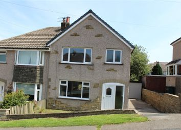 Thumbnail 3 bed semi-detached house for sale in Spring Avenue, Long Lee, Keighley