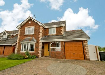 Thumbnail 4 bed detached house for sale in Parc Gwellyn, Kinmel Bay, Rhyl