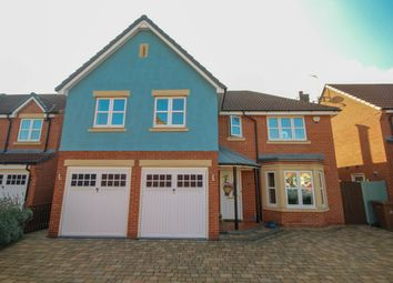 Thumbnail 5 bed detached house to rent in Nettleton Close, Littleover, Derby