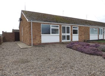 Thumbnail 2 bedroom semi-detached bungalow to rent in Glebe Road West, Kessingland, Lowestoft