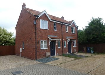 Thumbnail 2 bed semi-detached house to rent in Granger Close, Wisbech