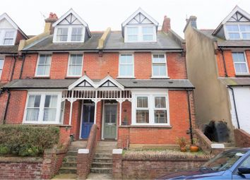 Thumbnail 4 bed end terrace house for sale in Greenfield Road, Eastbourne