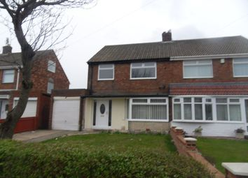 Thumbnail 3 bedroom semi-detached house for sale in Tynedale Drive, Blyth