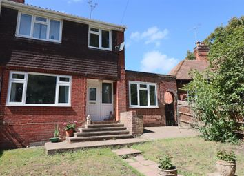 Thumbnail 4 bed semi-detached house for sale in Kingsley Road, Eversley, Hook