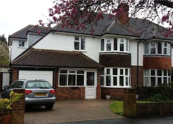 Thumbnail 4 bed semi-detached house to rent in Shelvers Way, Tadworth